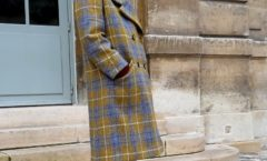 The tweed coat